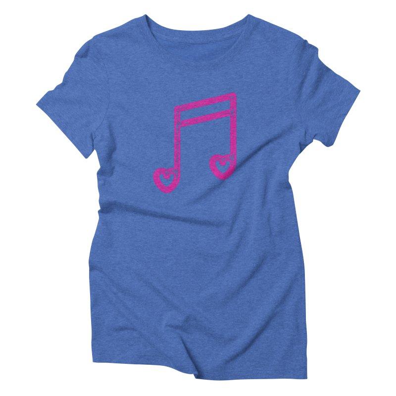 Music Lover Women's Triblend T-Shirt by Jacob Patrick