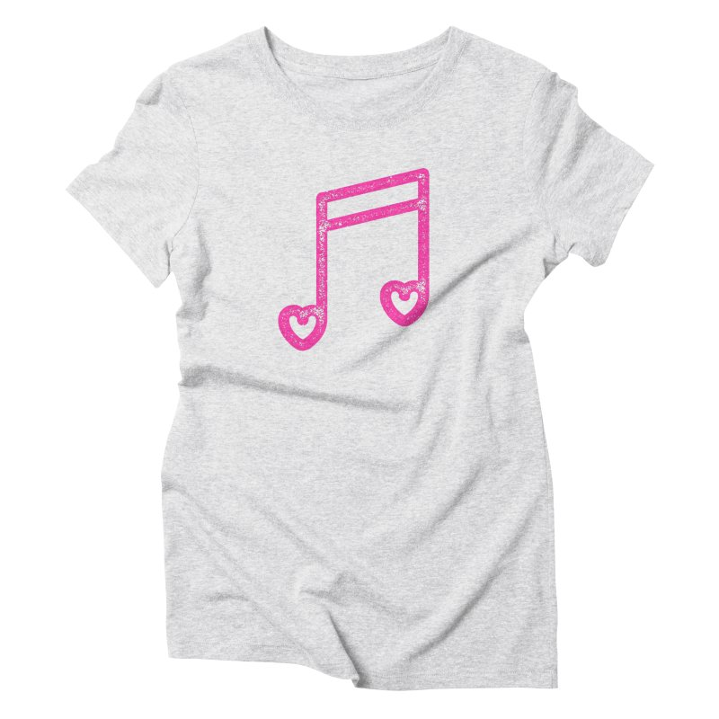 Music Lover Women's Triblend T-Shirt by Jacob Patrick