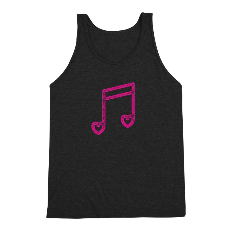 Music Lover Men's Triblend Tank by Jacob Patrick