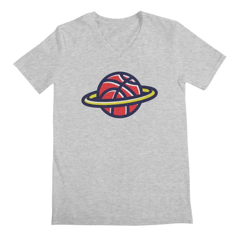 Space Jam Men's Regular V-Neck by Jacob Patrick
