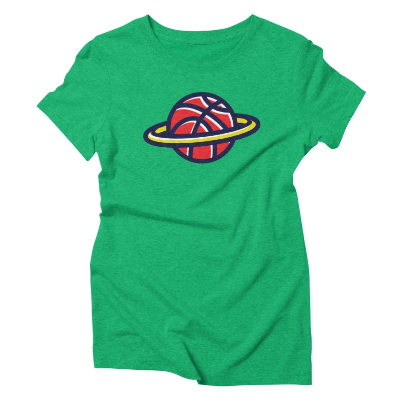 Space Jam Women's Triblend T-Shirt by Jacob Patrick