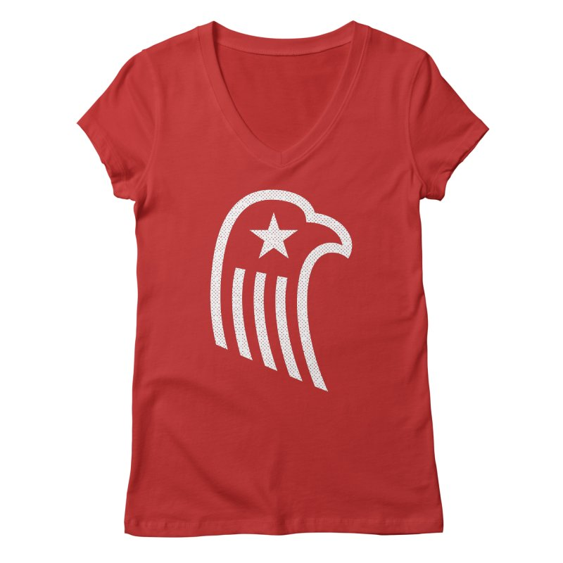 American Eagle Women's Regular V-Neck by Jacob Patrick