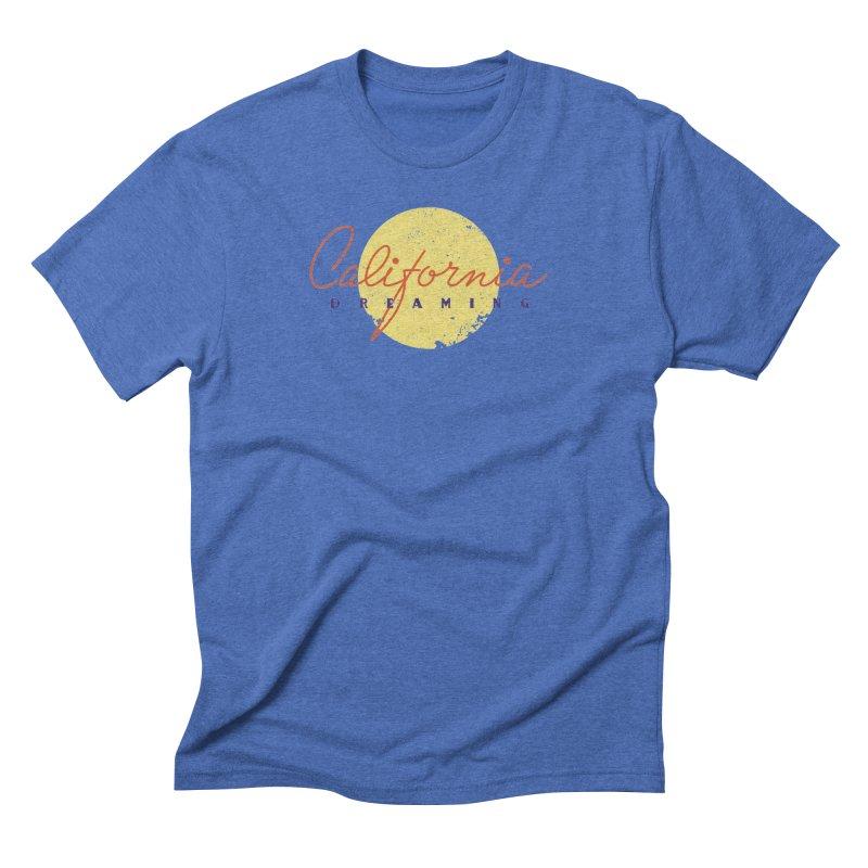 California Dreaming Men's Triblend T-Shirt by Jacob Patrick