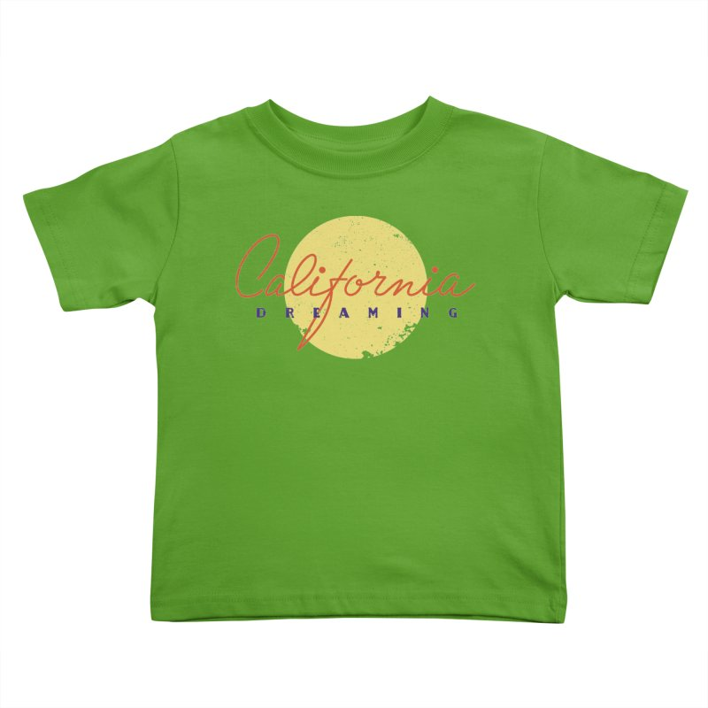 California Dreaming Kids Toddler T-Shirt by Jacob Patrick