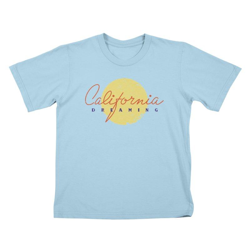 California Dreaming Kids T-Shirt by Jacob Patrick