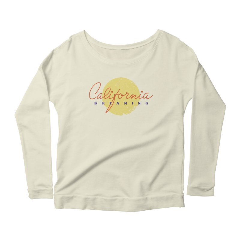 California Dreaming Women's Scoop Neck Longsleeve T-Shirt by Jacob Patrick