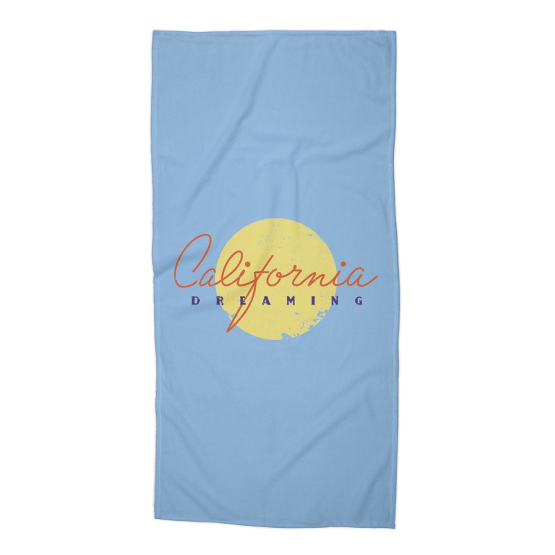 California Dreaming Accessories Beach Towel by Jacob Patrick