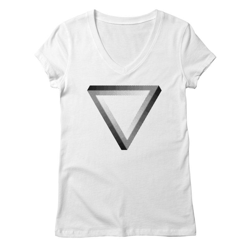 Penrose Women's Regular V-Neck by Jacob Patrick
