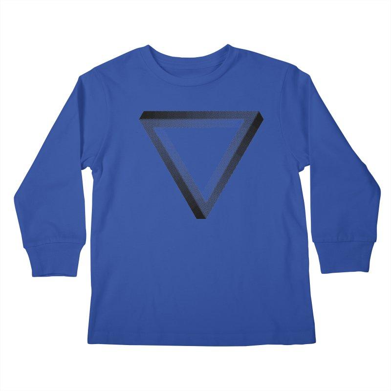Penrose Kids Longsleeve T-Shirt by Jacob Patrick