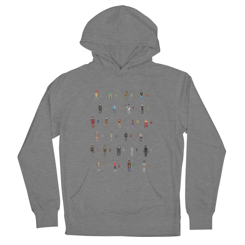 Z-A Men's French Terry Pullover Hoody by Haasbroek's Artist Shop