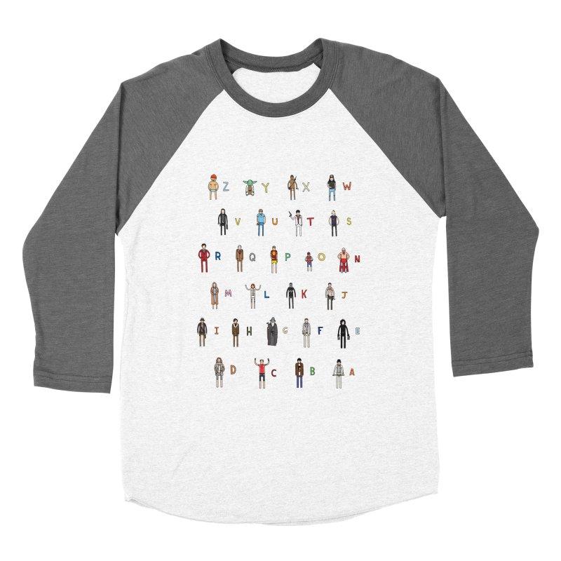 Z-A Women's Baseball Triblend T-Shirt by jacohaasbroek's Artist Shop
