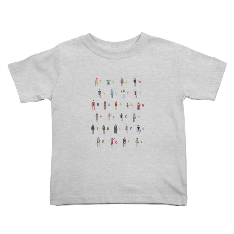 Z-A Kids Toddler T-Shirt by jacohaasbroek's Artist Shop