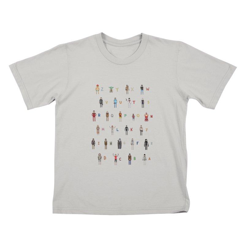 Z-A Kids T-shirt by jacohaasbroek's Artist Shop