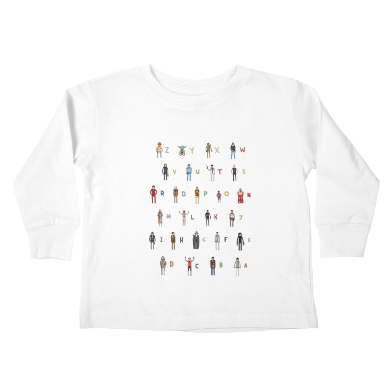 Z-A Kids Toddler Longsleeve T-Shirt by jacohaasbroek's Artist Shop