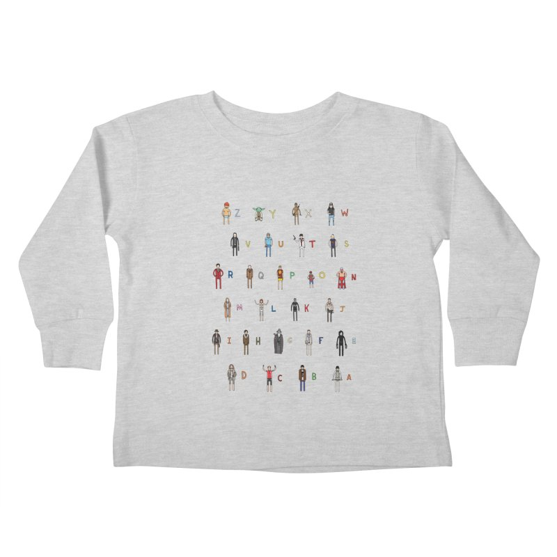Z-A Kids Toddler Longsleeve T-Shirt by Haasbroek's Artist Shop