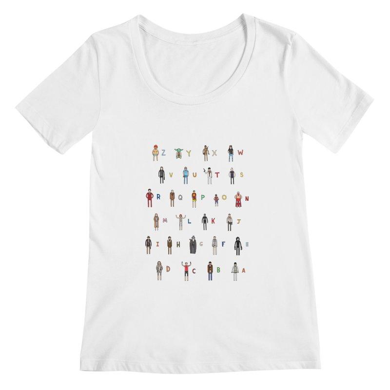 Z-A Women's Scoopneck by jacohaasbroek's Artist Shop