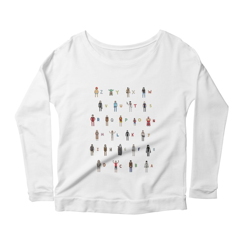 Z-A Women's Scoop Neck Longsleeve T-Shirt by jacohaasbroek's Artist Shop
