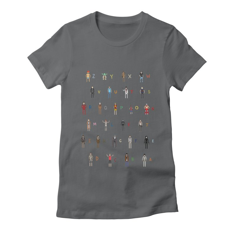 Z-A Women's Fitted T-Shirt by Haasbroek's Artist Shop
