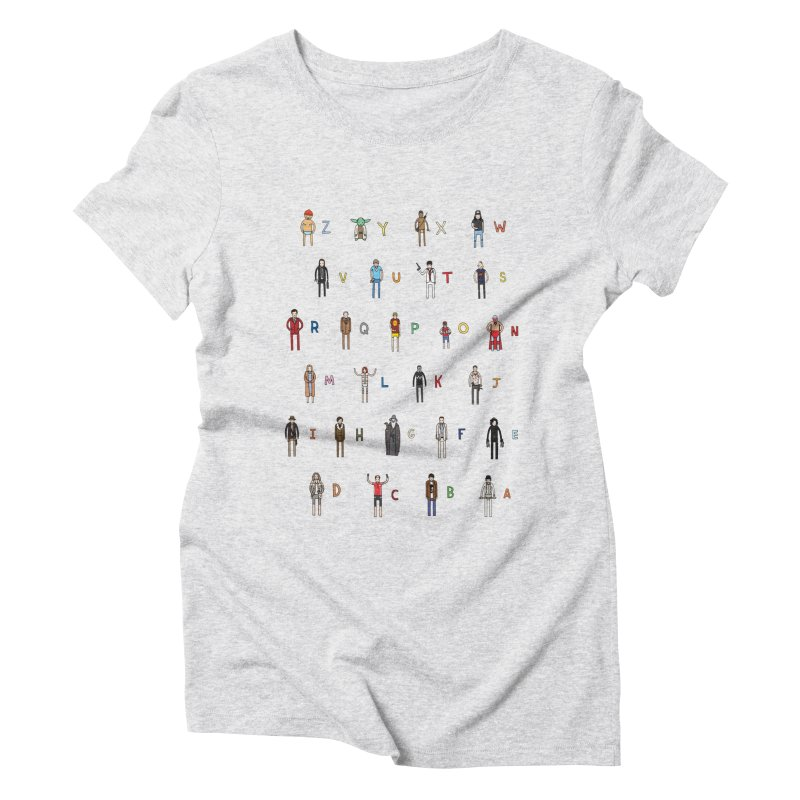 Z-A Women's Triblend T-Shirt by jacohaasbroek's Artist Shop