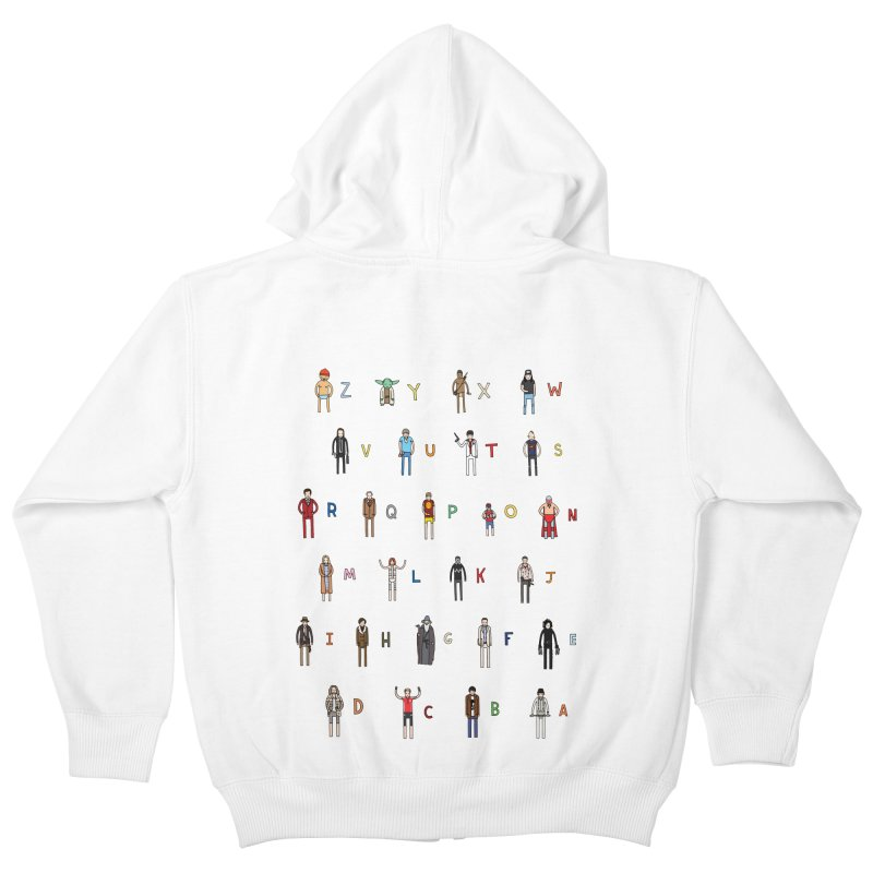 Z-A Kids Zip-Up Hoody by jacohaasbroek's Artist Shop