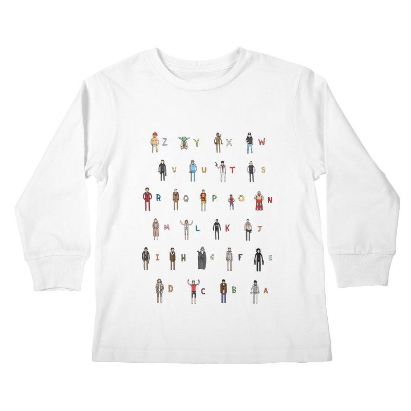Z-A Kids Longsleeve T-Shirt by Haasbroek's Artist Shop