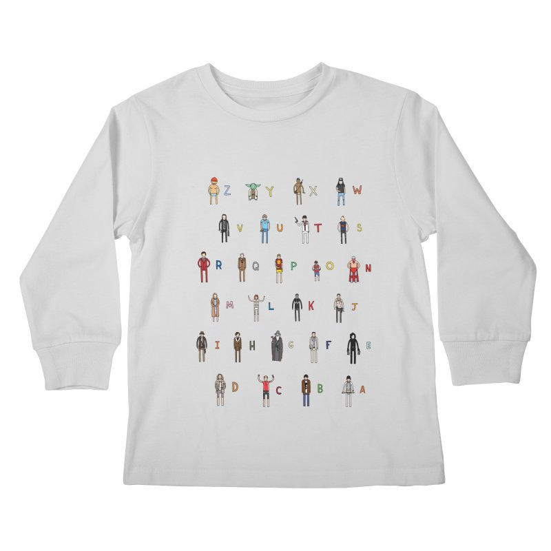 Z-A Kids Longsleeve T-Shirt by jacohaasbroek's Artist Shop