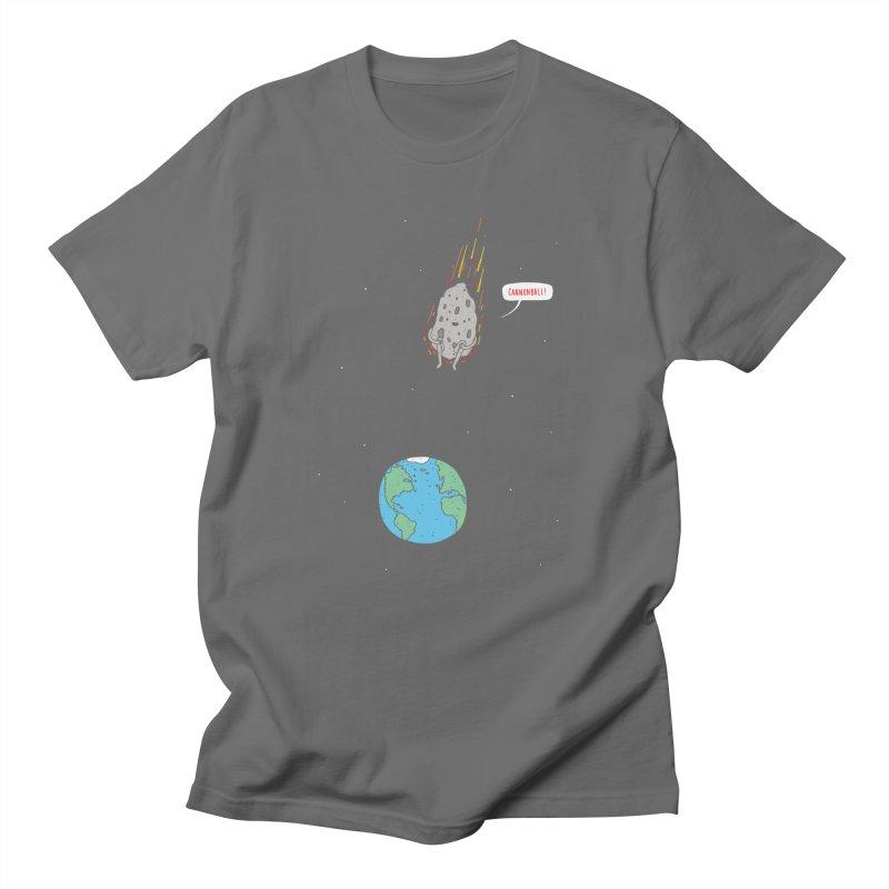 Cannonball! Men's T-Shirt by Haasbroek's Artist Shop