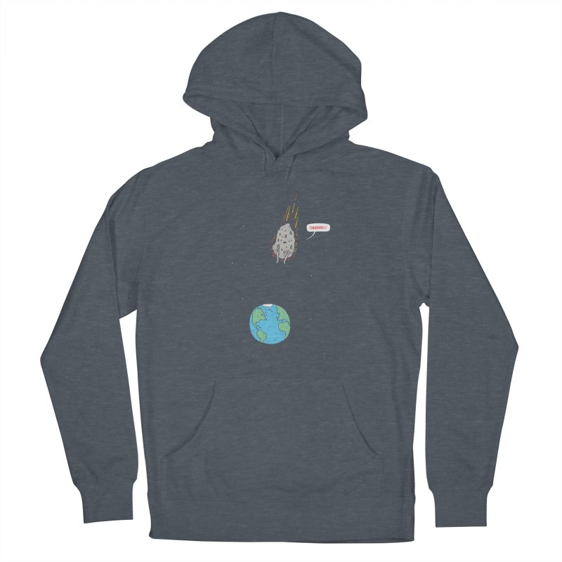 Cannonball! Men's French Terry Pullover Hoody by Haasbroek's Artist Shop