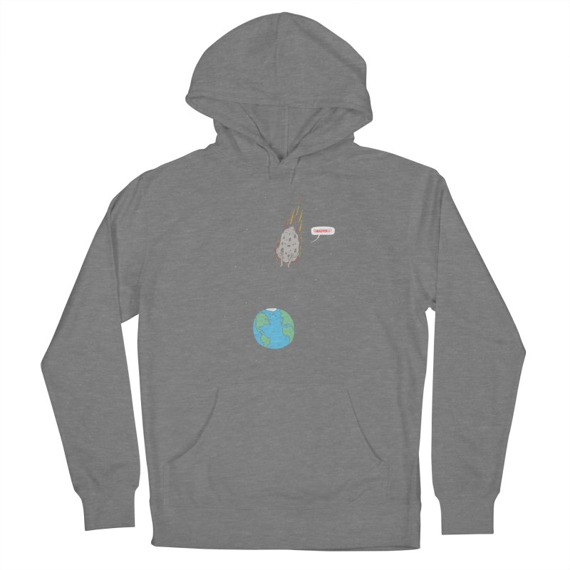 Cannonball! Women's French Terry Pullover Hoody by Haasbroek's Artist Shop