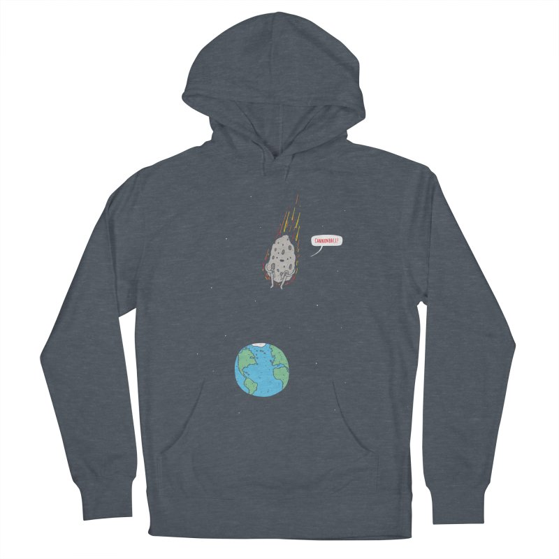 Cannonball! Men's Pullover Hoody by jacohaasbroek's Artist Shop