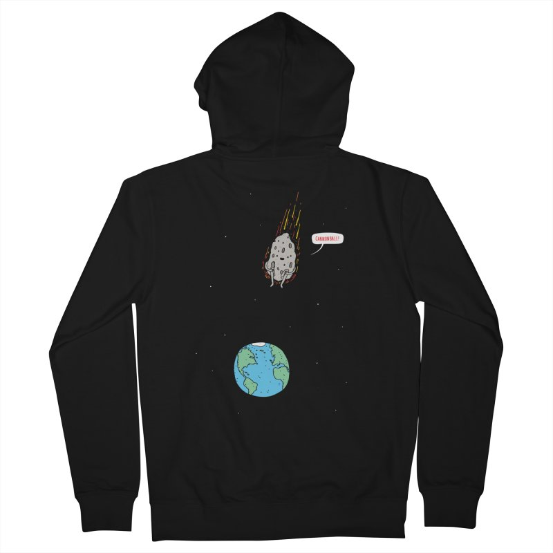 Cannonball! Women's French Terry Zip-Up Hoody by jacohaasbroek's Artist Shop