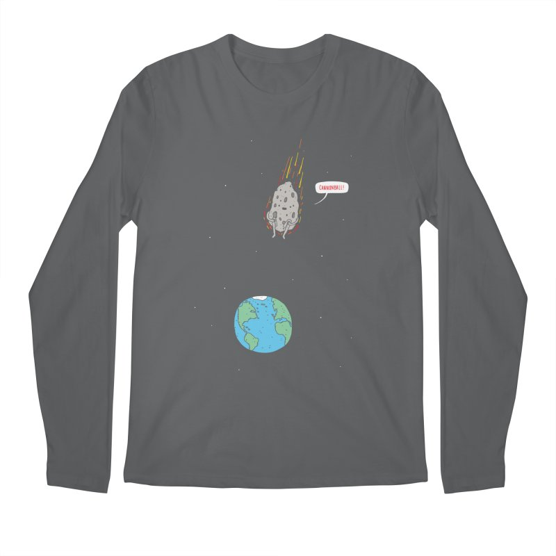 Cannonball! Men's Longsleeve T-Shirt by jacohaasbroek's Artist Shop