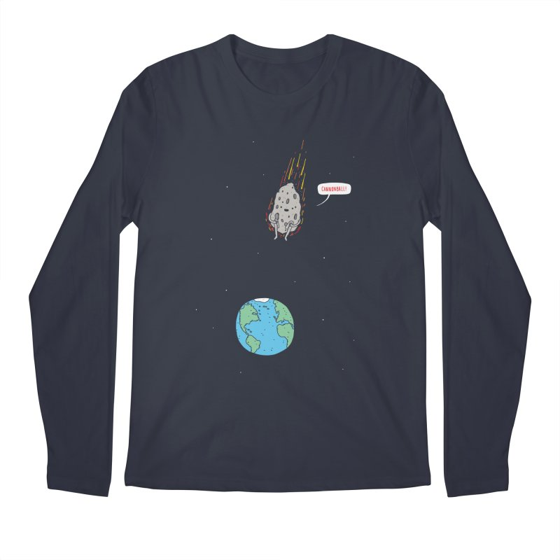 Cannonball! Men's Regular Longsleeve T-Shirt by Haasbroek's Artist Shop