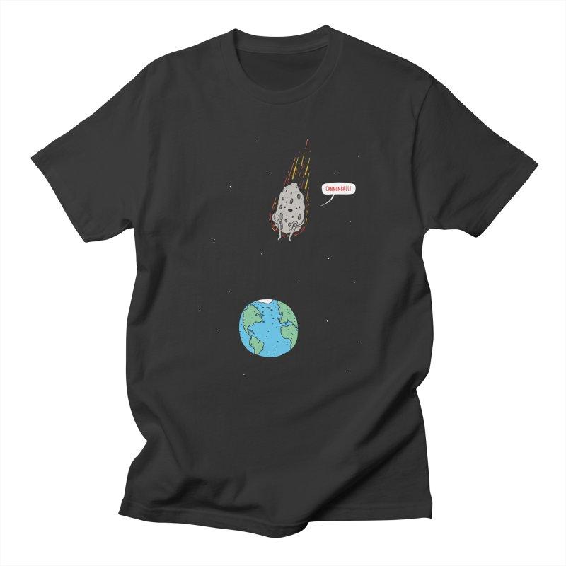Cannonball! Men's T-shirt by jacohaasbroek's Artist Shop