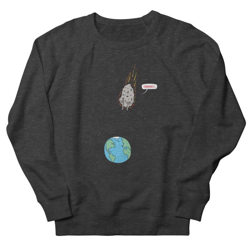 Cannonball! Women's French Terry Sweatshirt by jacohaasbroek's Artist Shop