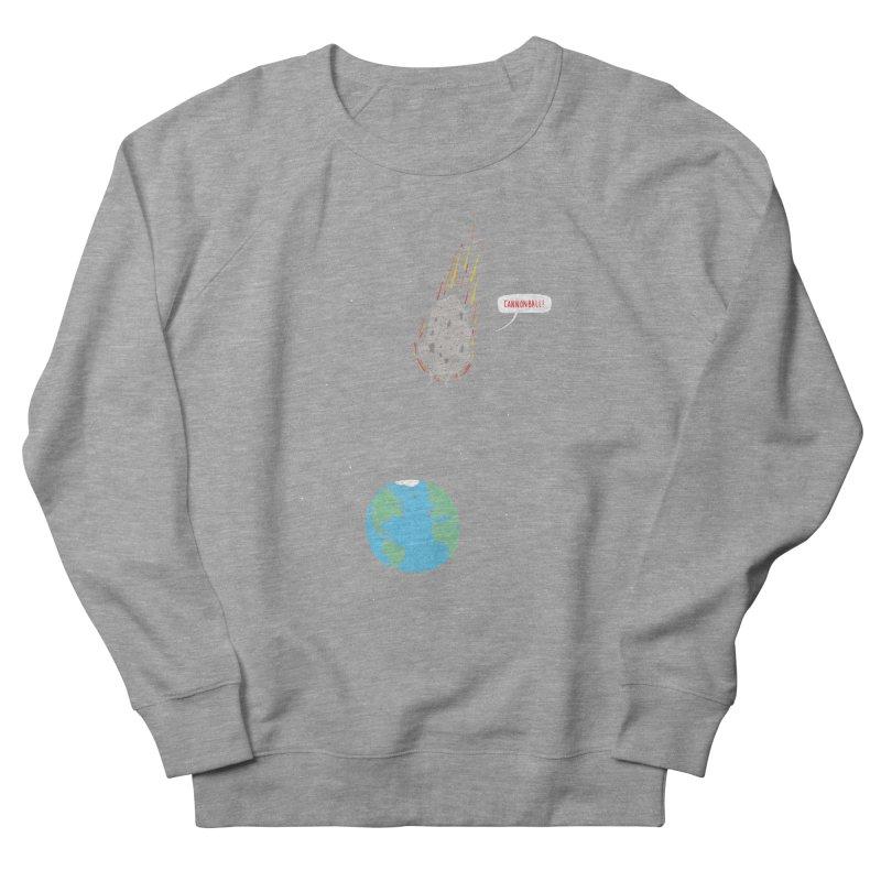 Cannonball! Women's French Terry Sweatshirt by Haasbroek's Artist Shop