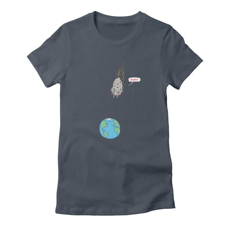 Cannonball! Women's T-Shirt by Haasbroek's Artist Shop