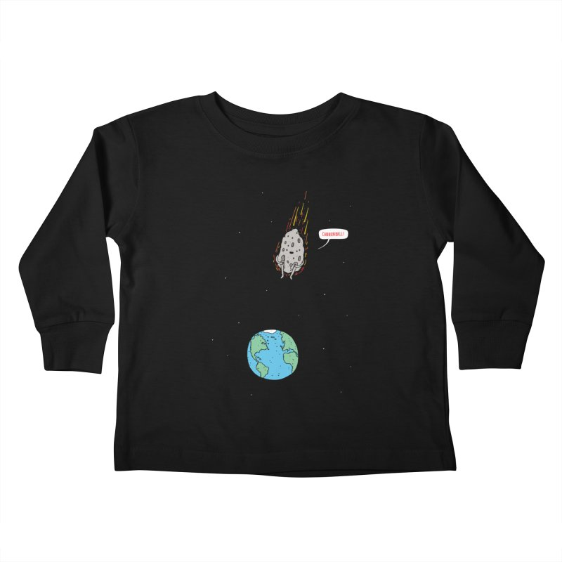Cannonball! Kids Toddler Longsleeve T-Shirt by Haasbroek's Artist Shop