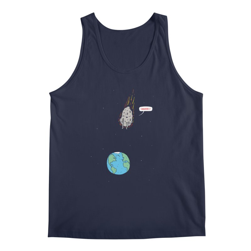 Cannonball! Men's Regular Tank by jacohaasbroek's Artist Shop