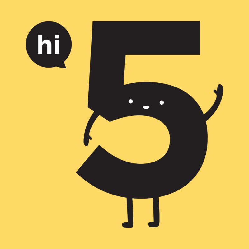 Hi 5   by jacohaasbroek's Artist Shop