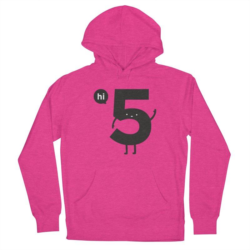 Hi 5 Women's French Terry Pullover Hoody by Haasbroek's Artist Shop