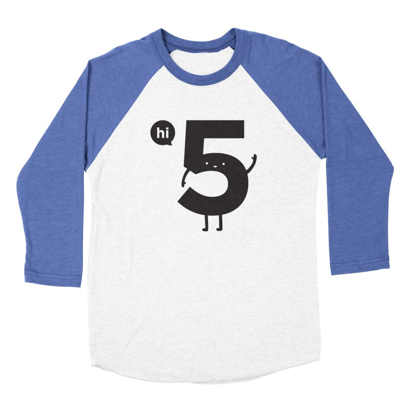 Hi 5 Women's Baseball Triblend Longsleeve T-Shirt by Haasbroek's Artist Shop
