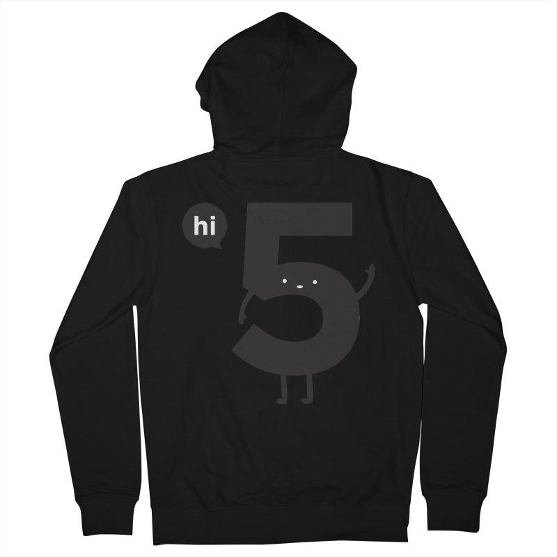 Hi 5 Women's French Terry Zip-Up Hoody by Haasbroek's Artist Shop