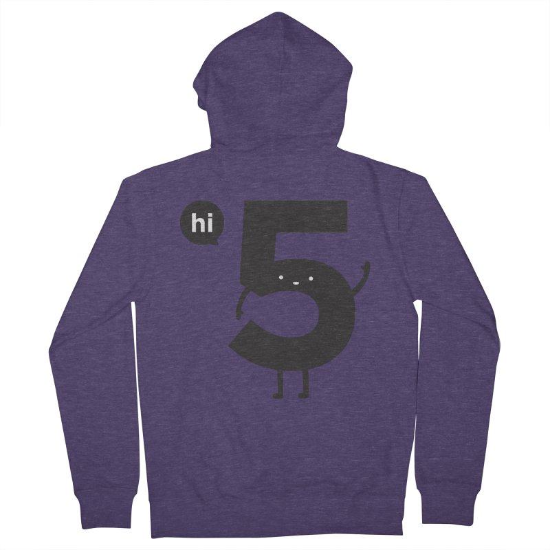 Hi 5 Men's Zip-Up Hoody by jacohaasbroek's Artist Shop