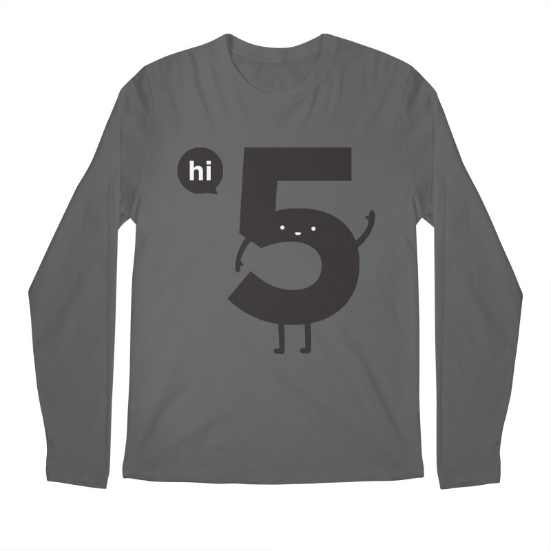 Hi 5 Men's Longsleeve T-Shirt by jacohaasbroek's Artist Shop