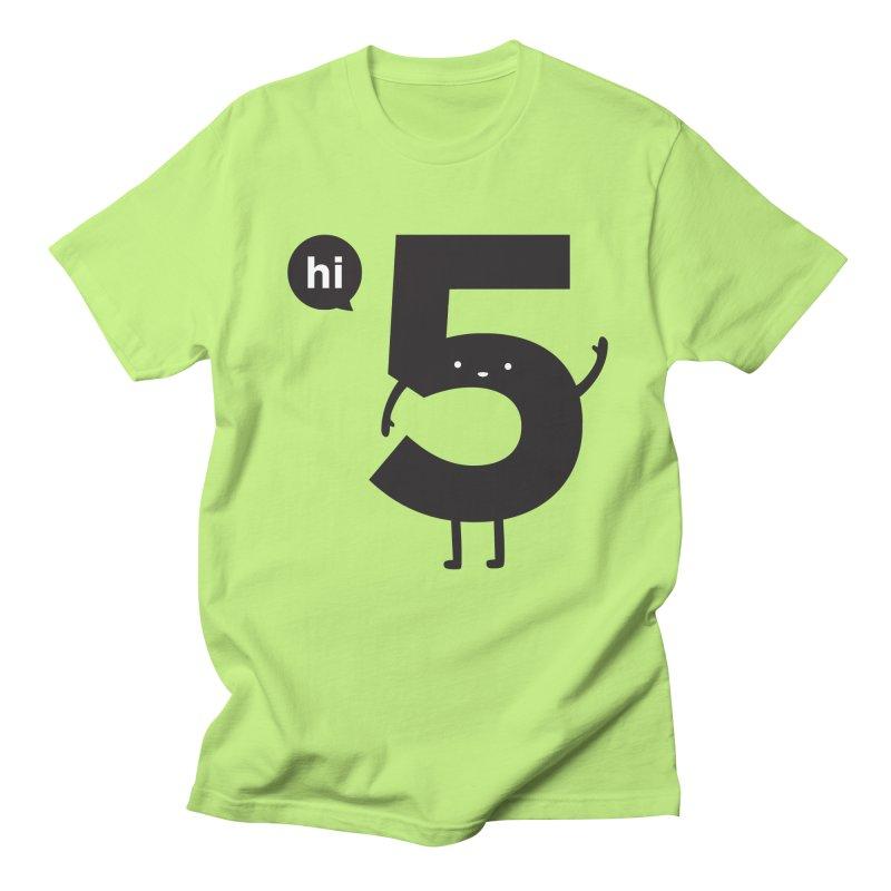 Hi 5 Men's T-Shirt by jacohaasbroek's Artist Shop