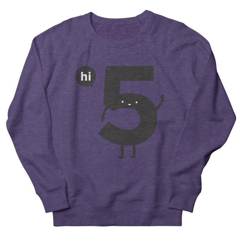 Hi 5 Men's Sweatshirt by jacohaasbroek's Artist Shop