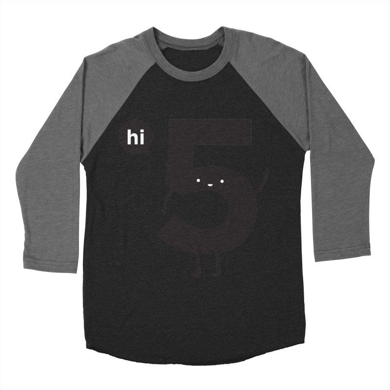 Hi 5 Women's Baseball Triblend T-Shirt by jacohaasbroek's Artist Shop