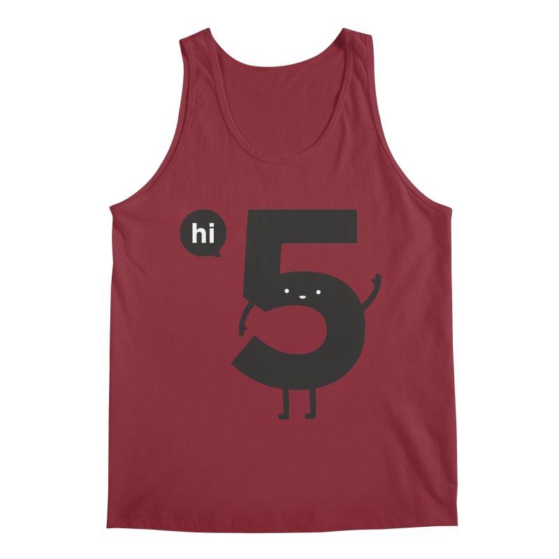 Hi 5 Men's Tank by Haasbroek's Artist Shop