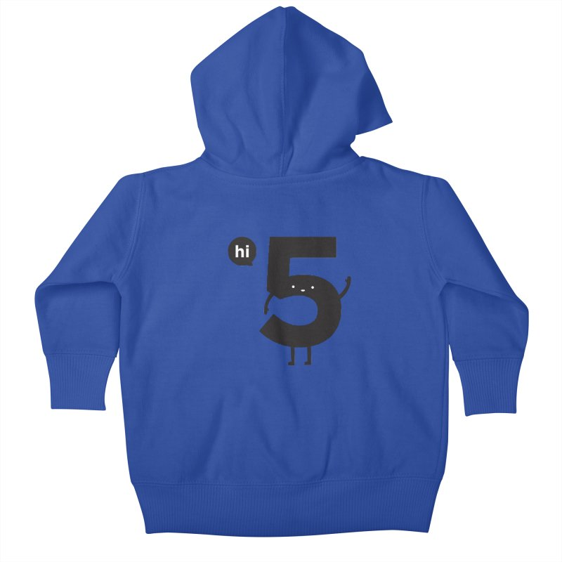 Hi 5 Kids Baby Zip-Up Hoody by Haasbroek's Artist Shop